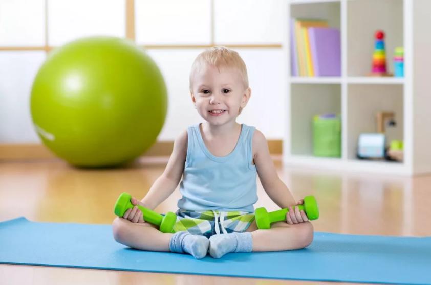 Фитнес для детей от 2 лет